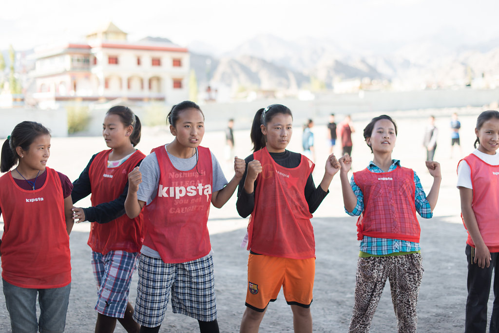 Tibetan Women's Football in India